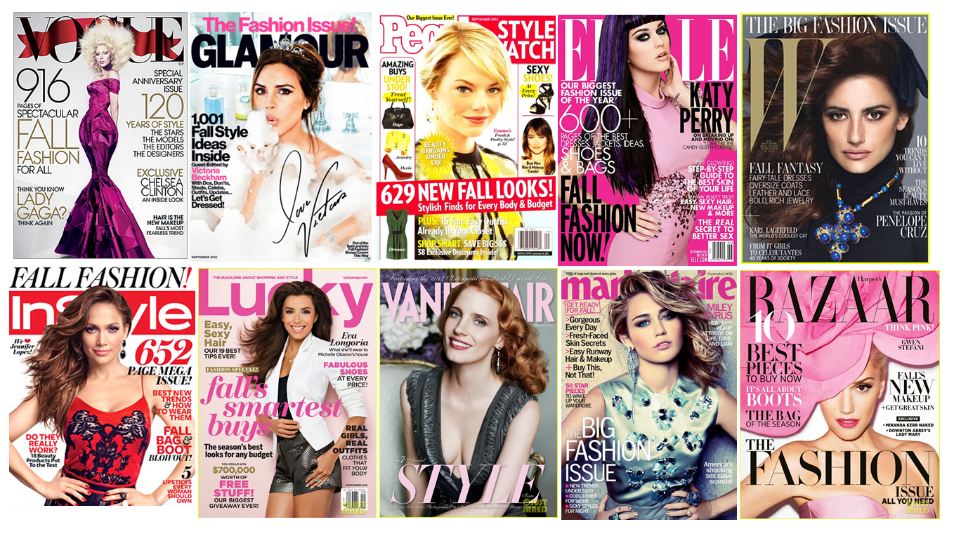 vote now what�s your favorite fashion magazine shop312com