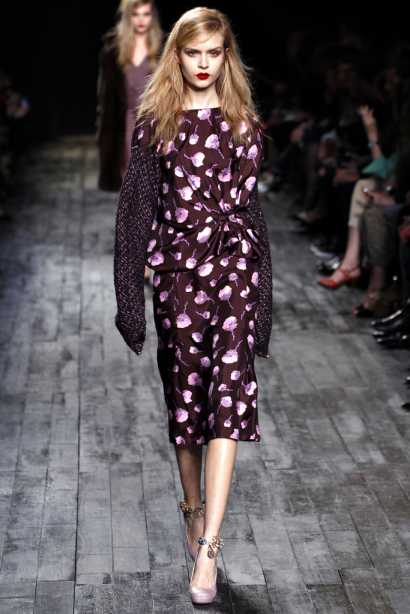 Fall 2012 Fashion - Floral Prints
