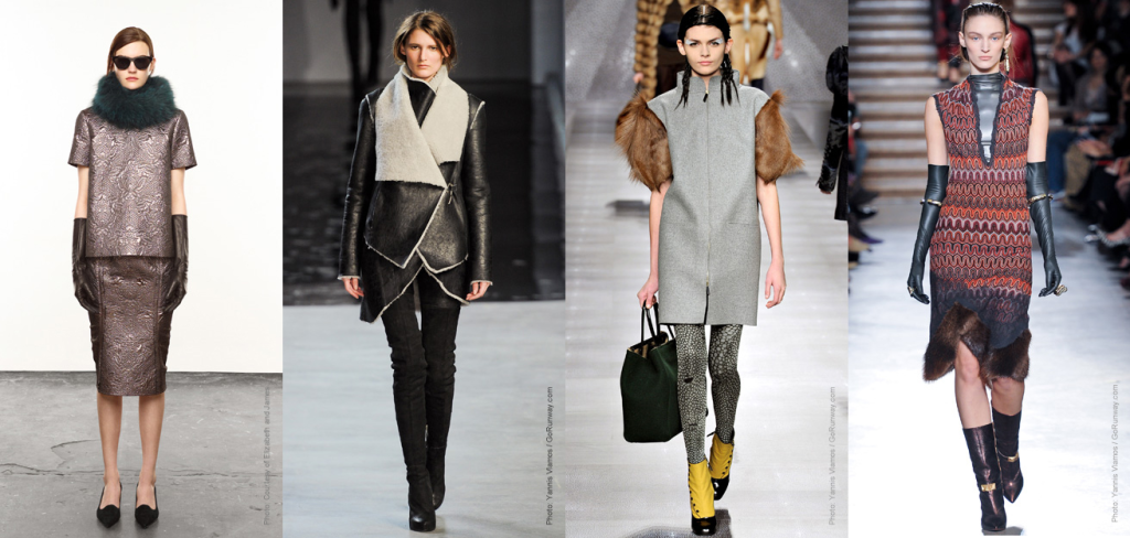 Fall 2012 Fashion Trend - Fur Trim