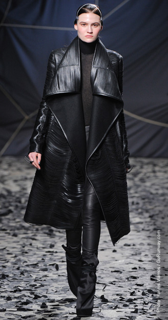 Fall 2012 Fashion Trend - Leather