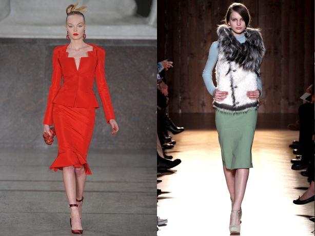 Fall 2012 Fashion Trend - Pencil Skirts